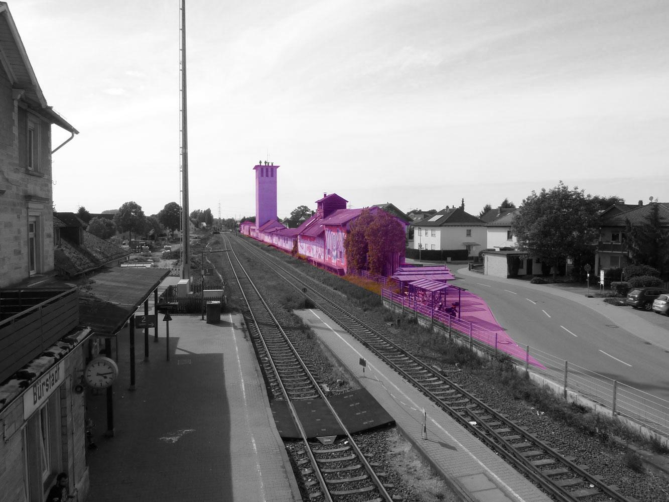 Neues Wohnen Und Arbeiten Am Kreuzbahnhof Bürstadt Metris