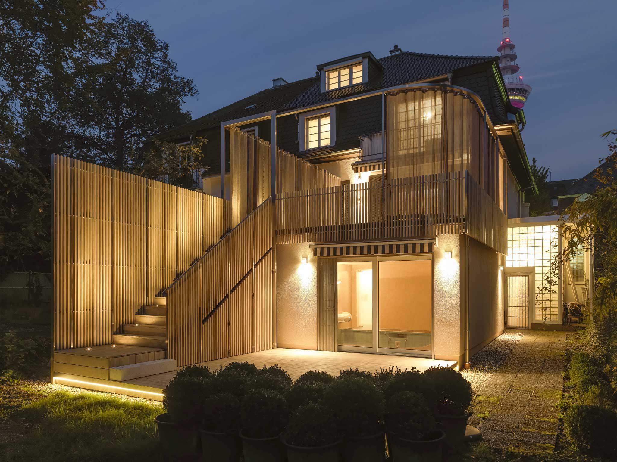 haus m umbau und sanierung von terrasse und schwimmbad metris architekten stadtplaner. Black Bedroom Furniture Sets. Home Design Ideas